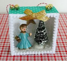 christma diorama