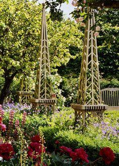 Garden Obelisks