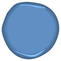 """Waterloo CSP-555. """"Blue Skies for New Blue Eyes"""" #BenjaminMoore #ProjectDecor"""