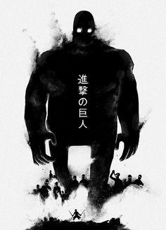 kyojin, behance, charact design, art, poster, vincent roché, inspir, shingeki, illustr