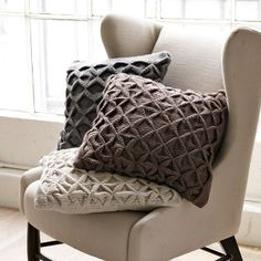 DIY Pillow Projects , Sweater Pillow
