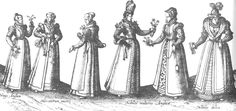 Elizabethan middle class fashion: nonesuch palace