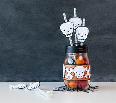 Spooky straws!