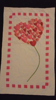 Valentine wall hanging. $30.00