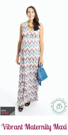 Maternity Maxi for Fall | MomTrends