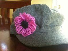 Clover USA » Make It » Jazz up hat