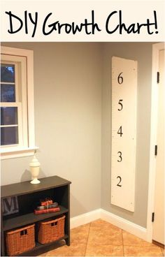 DIY Growth Chart for Kids!
