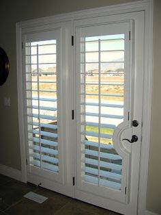 plantation shutters for french doors the doors, curtains french doors, back doors, plantat shutter, sliding glass doors, plantation shutters curtains, kitchen doors, curtains for french doors, sliding doors