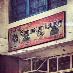 Summacum Laundry. Funny English Signs, Funny Pinoy, Funny Filipino Pictures, Tagalog jokes, Pinoy Humor pinoy jokes #pinoy #pinay #Philippines #funny #pinoyjoke