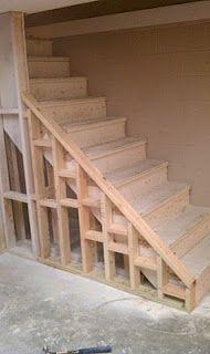 basement on pinterest basement stairs outdoor storage