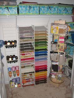 Searchwords: Closet of my scrapbook Room