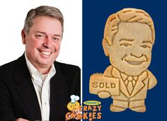 Sold - Employee - Custom Cookies - Marketing Ideas #Marketing #Ideas #Unique #Cookies  #Personalized #Gifts