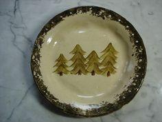 Pine tree pottery pine needle basket bases on Etsy, $12.00