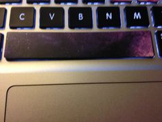 It's a space bar!!