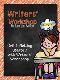 **Best Seller** Develop students love of writing with this unit for emergent writers. $