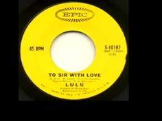 """Lulu - """"To Sir With Love"""" (1967)"""