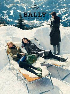 Caroline Trentini & Hilary Rhoda, for Bally (Photography by Norman Jean Roy) | 2012