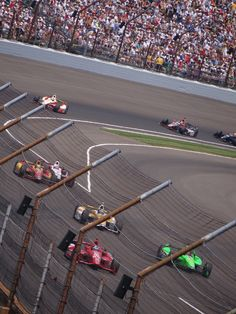 Indy 500 - actually go there and watch it.