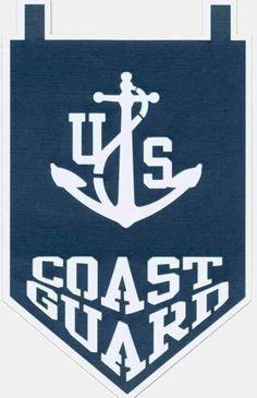 USCG flag for yard