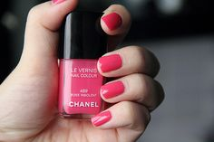 Love this colour - Chanel #489. Bought this for myself Duty Free yay!! *Found this colour thanks to a follow pinner - it's fab*
