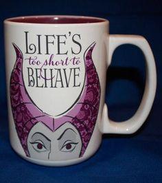Life's too Short to Behave Coffee Mug ♥