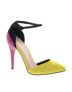 point high, fashion shoes, colour block, aso prioriti, high heel, neon colors, colorblock heel, prioriti point, color block shoes