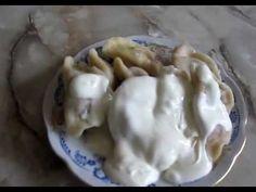 Приготовить вареники с сырой картошкой