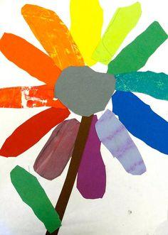 color wheel flower--1st