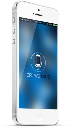 Great app that I discovered today on #RSCON5 http://crowdmics.com/