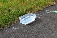 sink or float outside! Use nature bits and find out what sinks and what floats.