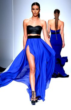 skirt, fashion weeks, runway 2014, michael costello 2014, dress obsess, costello gown, style fashion