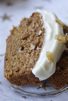 Gingerbread loaf Starbucks copycat recipe from @Carol | a cup of mascarpone #recipe