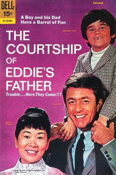 The Courtship of Eddie's Father (1969-72, ABC) starring Bill Bixby, Brandon Cruz & Miyoshi Umeki — 1969 comic book