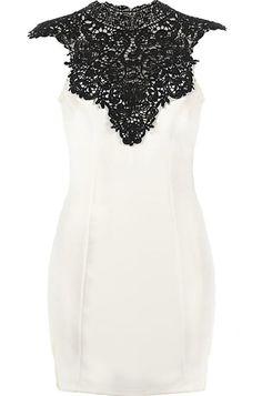 lace, fashion, party dresses, bachelorette parties, cloth, black hair, closet, neck dress, crochet neck