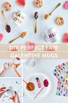 Make a perfect pair of Galentine's Day mugs for your best friend or your tribe with this easy DIY.