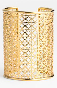 gold #toryburch cuff, want!
