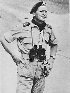 Mike Hoare in the Congo in 1964.