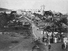 Aibonito, década 1880. Puerto Rico Historic Building Drawings Society