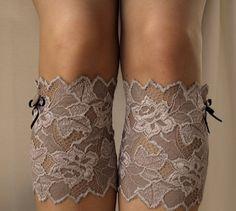 Lace Boot Cuff Socks