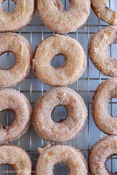 The best fall doughnuts - Apple Cider Doughnuts