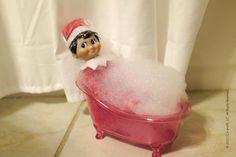 Peppermint bath