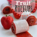 Homemade 2-Ingredient Fruit Rollups - Raining Hot Coupons