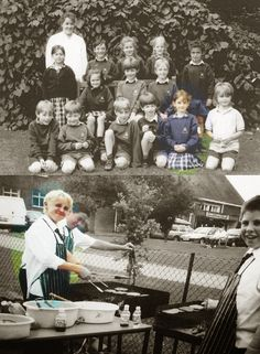 Little Draco and Hermione!