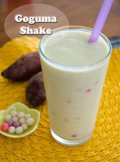 Goguma (sweet potato) Shake
