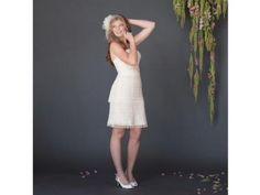 Fair Trade Convertible Flapper Wedding Gown | Green Bride Guide
