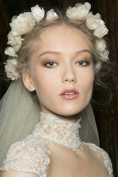 wedding hair IDEA! <3