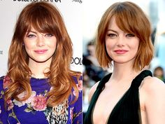 Emma Stone Cuts Her Hair Into a Cute Bob