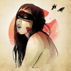 blood moon, illustr ladi, moon priestess, lart charnel, blood mage