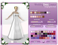 Wedding Dress Creator, Design your own Wedding Dress - http://casualweddingdresses.net/why-not-design-your-own-wedding-dress-for-some-personal-touch/