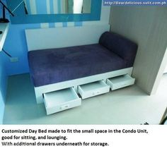 This is one of the condo units that we designed together with customized furniture. The Client asked